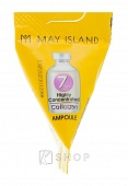 Сыворотка увлажняющая с коллагеном May Island 7 Days Highly Concentrated Collagen Ampoule 1шт.*3г
