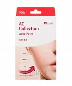 Патчи от акне COSRX AC Collection Acne Patch (9шт/мал, 9шт/сред, 8шт/бол)